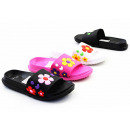 Mesdames pantoufles chaussures de plage fleurs d&#