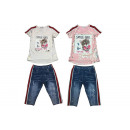 Kids Girls Suit Set of 2 Turning Sequins