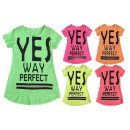 Kids Girls Trend Neon T-Shirt 4-14 Years Print