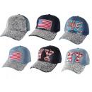 Basecap Jeans Cap Caps Cap Rhinestone Bling USA