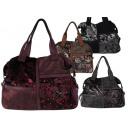 Damen Taschen Handtasche Schultertasche Metallic
