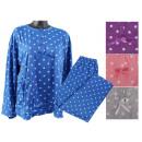 Damen Schlafanzug 2-teiliges Set Punkte Pyjama