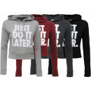 Women's sweaters Shirts Hooded Sweater Hoody L