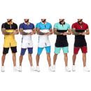 Herren Trend Short Jogging Anzug Sports Sportanzug