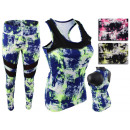 Women's Sports and Leisure Suit Tracksuit Neon