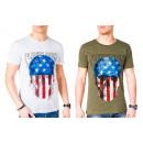 Großhandel Shirts & Tops: Herren Men Sommer Trend Shirt T-Shirt Print Skull