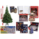 Mix items Christmas decoration Advent candles uvm.