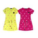 Kids Trend Girl Dress Pattern Flamingo 2-12
