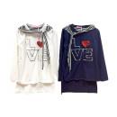 Kids Girls Sweater Maritime Applique