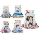 Großhandel Fashion & Accessoires: Kinder Mädchen  Kleid Girl Kleider Oberteile  Mix