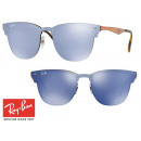 wholesale Sunglasses: Fashionable Ray-Ban Blaze Clubmaster RB3576N
