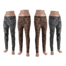 Großhandel Hosen: Modische Leo Damen Thermo Leggings Leggins