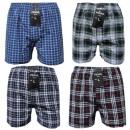 Großhandel Dessous & Unterwäsche: Boxershorts Boxer Shorts Unterhosen Kariert Cotton