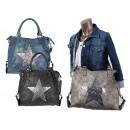 wholesale Home & Living: Women Glitter bags star application Mix Uni