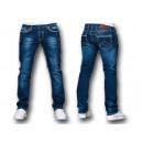 Fashionable Men's Denim Pants Washed Jeans Den