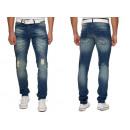 ingrosso Jeans: Jeans Pantaloni  jeans uomo Slim Stretch Denim