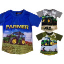 wholesale Childrens & Baby Clothing: Kids Boys T-Shirt Tractor Farmer Farmer 2-14