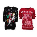 Großhandel Pullover & Sweatshirts: Damen Woman Weihnachten Strickpullover ...