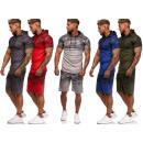 Großhandel Sportbekleidung: Herren Trend Jogging Anzug Kapuze Camouflage ...