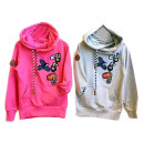 Kinder Mädchen Pullover Hoody Applikation Patches