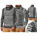 Großhandel Pullover & Sweatshirts: Herren Trend Pullover Strickpullover ...