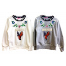 Kids Girls Sweater Applique Patches