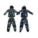 Kids jogging suit sports suit Camouflage