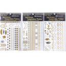 ingrosso Piercing/Tattoo: Una volta metallo  Tattoo Bracciale in oro argento
