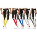 Men Trend Basic sports pants stripes leisure