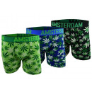 Men's Boxer Boxershorts Boxer Cannabis Amsterd