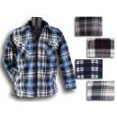 hurtownia Plaszcze & Kurtki: Męska koszula w  kratkę kurtka drwal koszula ciepłe