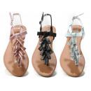 Ladies Woman Summer Trend Toe Separator Sandals