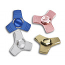 Spinner fidget Trend Finger Grommet Metallic Look