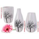 Großhandel Blumentöpfe & Vasen: Vase Tree Design  Vasen Porzellan Tischdeko Gefäß