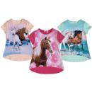 Großhandel Kinder- und Babybekleidung: Kinder Mädchen Trend T-Shirt Pferd Tunika ...