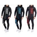 Hommes Jogging Suit costume sport survêtement