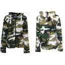 wholesale Pullover & Sweatshirts: Women's Long  Sleeve Pullover Hooded Sweater Sh
