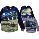 Kids boys tractor sweatshirt pullover shirt