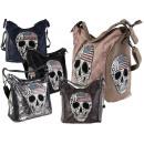 ingrosso Borse & Viaggi: Donne borsa borsa borsetta Skull