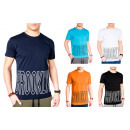 Men's Men's Summer Trend T-Shirt Basic Shi