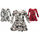 wholesale Childrens & Baby Clothing: Kids trend girl dress long sleeve incl. Bag