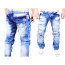 wholesale Jeanswear: Men Jeans Trousers  Jeans Denim Washed Vintage