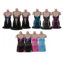 wholesale Erotic Clothing: 2 piece Chemise  Corset with matching briefs
