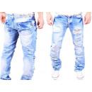 ingrosso Jeans: Uomo Jeans  Pantaloni jeans denim lavato Vintage