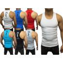 Großhandel Shirts & Tops: Herren Men Kurzarm Tank Top Shirt Motivdruck