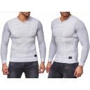 Men's Long Sleeve Pullover Sweatshirt Shirts