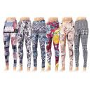 Großhandel Hosen: Damen Leggings Hose Damenleggings Leggins Mix Farb