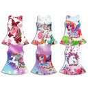 Mix post children trend girl dress unicorn