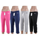 wholesale Sports Clothing: Ladies ¾ jogging pants sports trousers leisure Tra