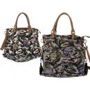 mayorista Maletas y articulos de viaje: Damen bolsa de tela Camouflage parches